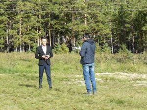 Рабочие моменты съёмки фильма. Jeti Qazyna